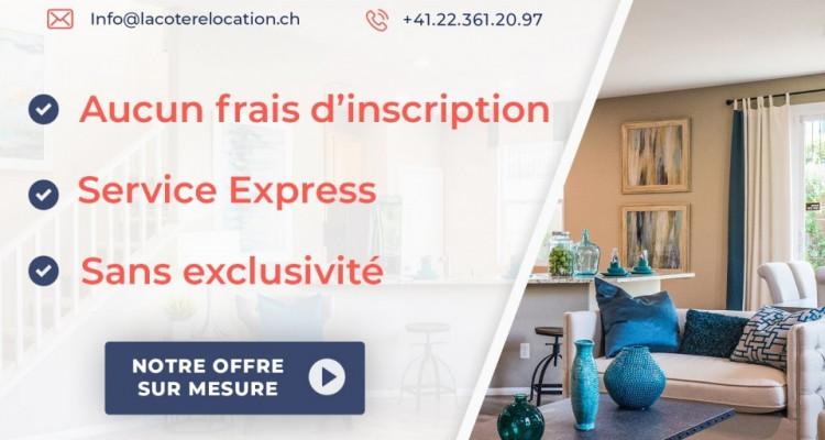 3D // Magnifique appartement 3,5 p / 2 chambres / SDB / Balcon  image 8