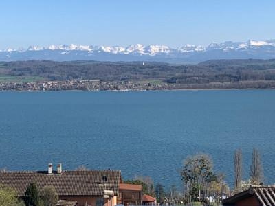 Magnifique duplex avec vue sur le lac de Morat et les Alpes! image 1