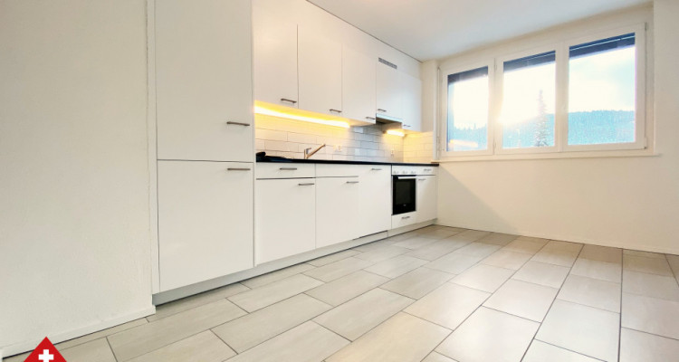 VISITE 3D / Magnifique appartement 3.5 p / 2 chambres / SDB / Balcon image 3