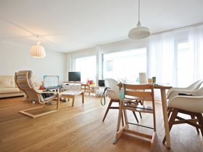 Magnifique 3,5p au rez avec jardin / 2 chambres / Terrasse - Vue image 1