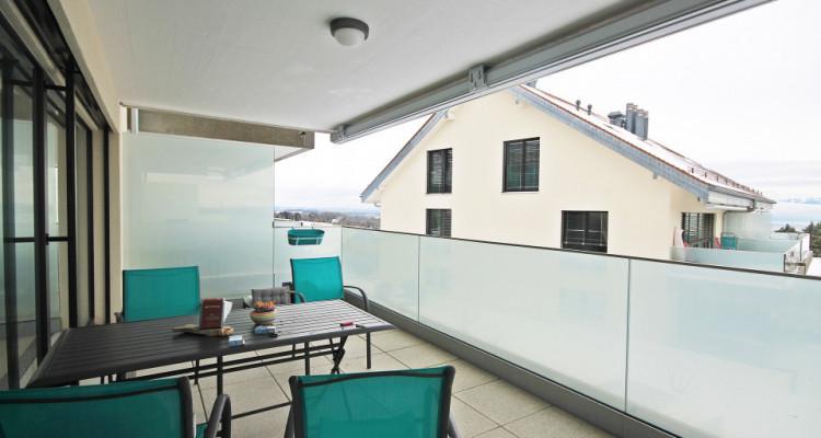 Magnifique 3,5p au rez avec jardin / 2 chambres / Terrasse - Vue image 7