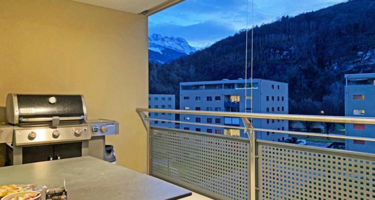 FOTI IMMO - Joli 3,5 pièces au 4ème étage avec beau balcon couvert ! image 8