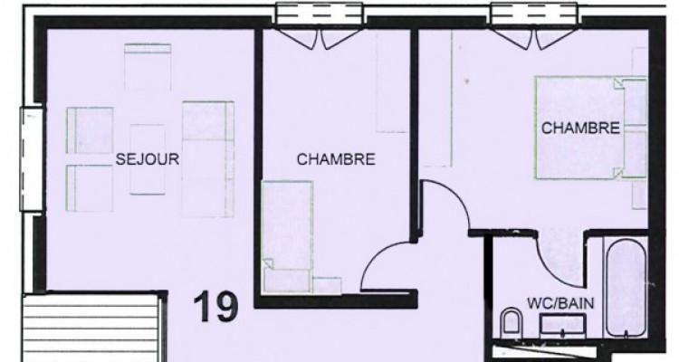 FOTI IMMO - Joli 3,5 pièces au 4ème étage avec beau balcon couvert ! image 9