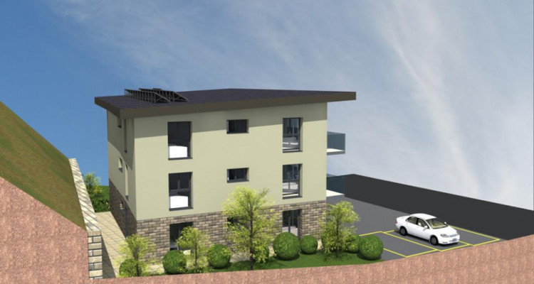 PROMOTION NEUVE - Appartement attique 2.5p sur plans - Aigle image 3