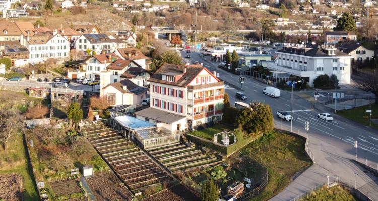 Bel immeuble de rendement de 3 appartements avec vue sur le lac image 1