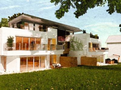 Lot A1/2 -  5 pièces avec balcon de 18 m2  image 1