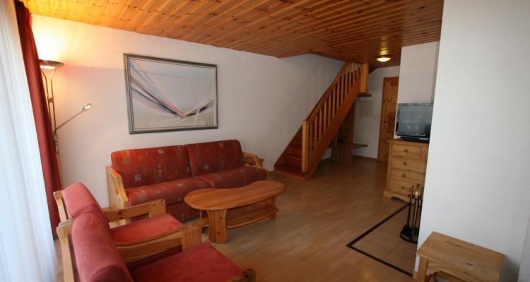 Magnifique appartement de 3 pièces au centre du village avec belle vue sur la vallée image 7