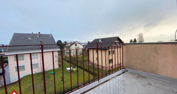 Magnifique attique 3p / balcon / jardin commun et potager individuel  image 2