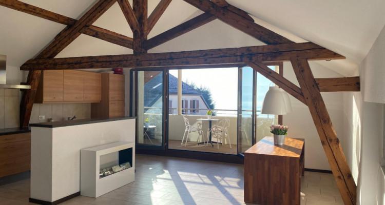Superbe duplex avec balcon et vue imprenable à Bougy-Villars image 2
