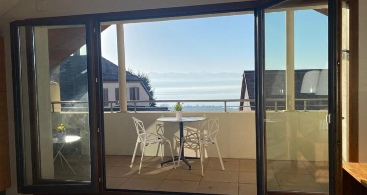 Superbe duplex avec balcon et vue imprenable à Bougy-Villars image 3