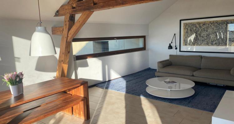 Superbe duplex avec balcon et vue imprenable à Bougy-Villars image 4