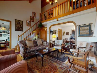 Bel appartement duplex de 4.5 pièces à Bursinel image 1