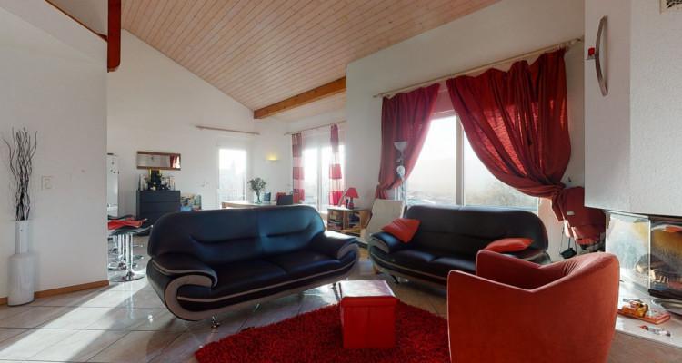 Magnifique duplex de 5.5 pièces avec grande terrasse et jolie vue image 2