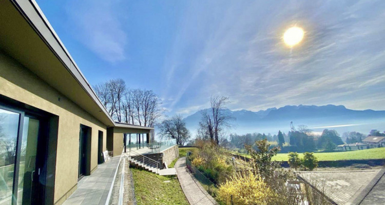 Splendid modern house with the lake view just newly built in Chailly-Montreux image 1