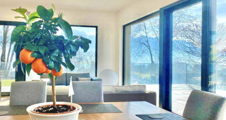 Splendid modern house with the lake view just newly built in Chailly-Montreux image 2