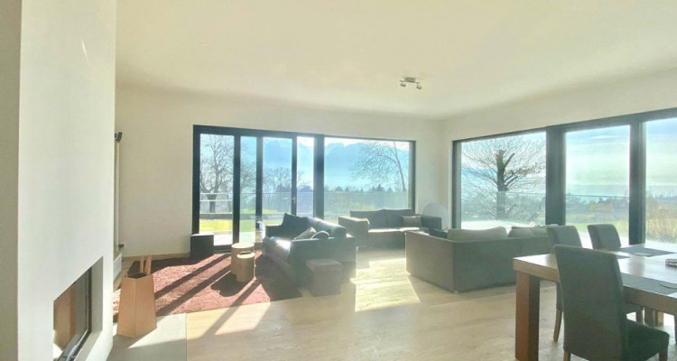 Splendid modern house with the lake view just newly built in Chailly-Montreux image 3
