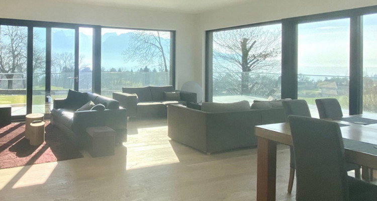 Splendid modern house with the lake view just newly built in Chailly-Montreux image 5