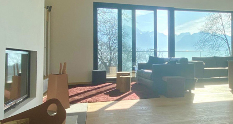 Splendid modern house with the lake view just newly built in Chailly-Montreux image 6
