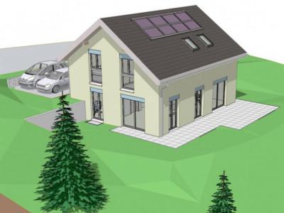 Terrain avec permis de construire pour une villa individuelle image 1