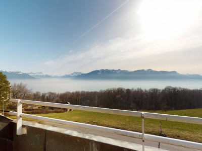 Grand duplex de 2.5 pièces avec vue sur le lac à 10 min de Vevey image 1