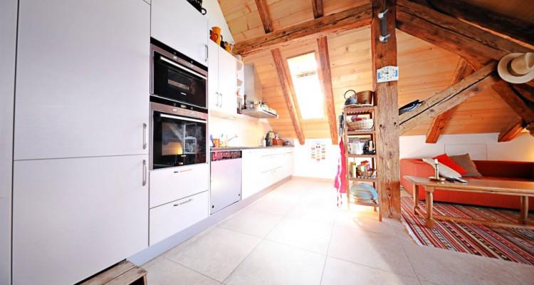 Sous-location meublée 3,5 p / 2 chambres / 1 SDB / vue lac image 2