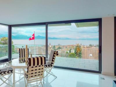 Luxueux villa moderne vue lac à Lutry de 610m2  image 1