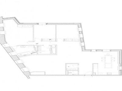 Prestigieux appartement de 6pcs au 6ème étage en centre-ville image 1