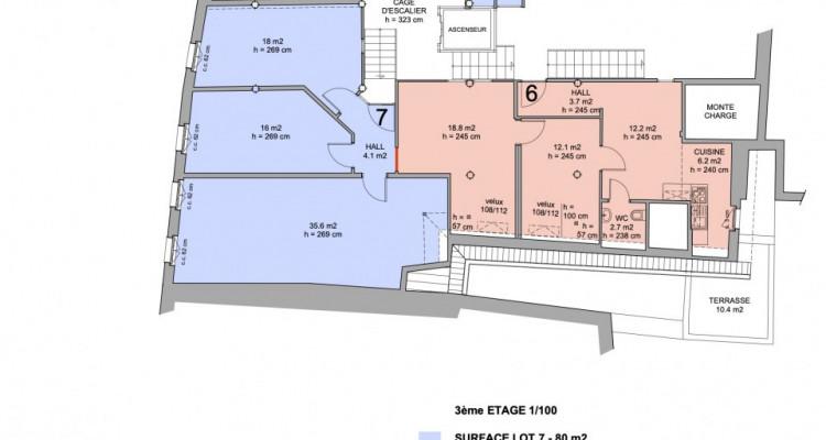 Bureaux de prestige ou cabinet médical  - Place de la Riponne image 4
