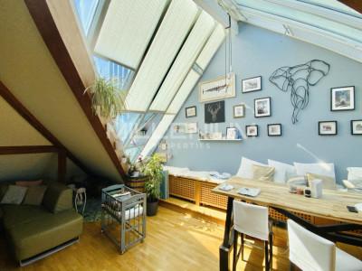 Bel appartement en attique 4.5P à Saint-Jean image 1