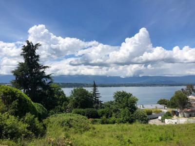 Rare à la vente: Un terrain avec un magnifique vue lac, à Cologny image 1