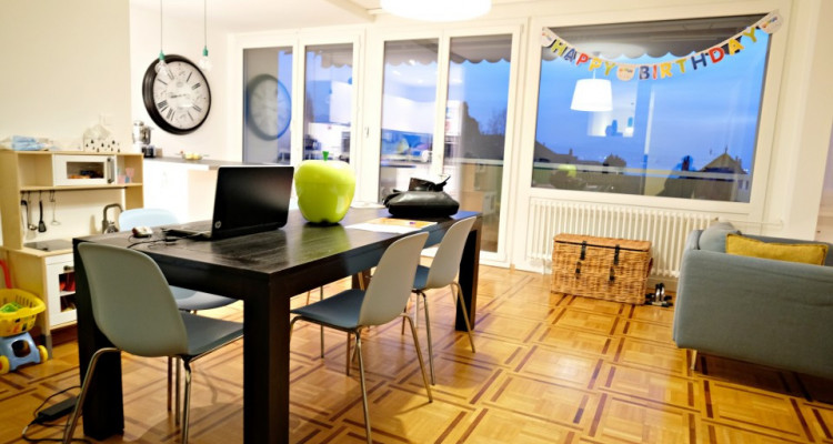 Superbe 4,5 p / 3 chambres / 2 SDB / Balcon / Belle vue. image 1