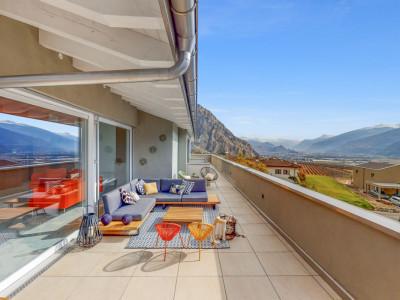 Superbe attique 6,5 pièces - vue panoramique - finitions dexceptions image 1