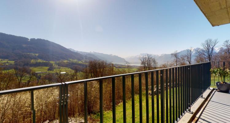 Très bel appartement duplex avec vue panoramique aux Monts-de-Corsier image 1