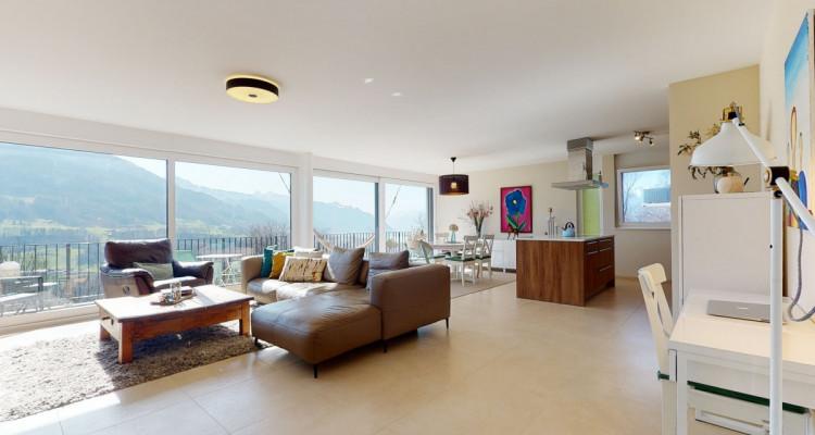 Très bel appartement duplex avec vue panoramique aux Monts-de-Corsier image 2