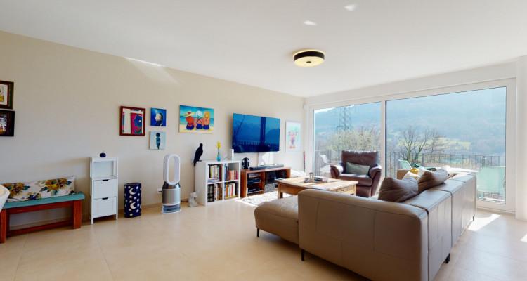 Très bel appartement duplex avec vue panoramique aux Monts-de-Corsier image 3