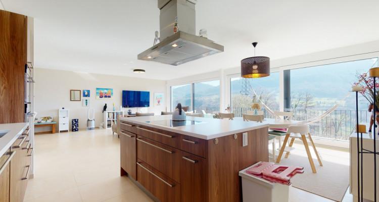 Très bel appartement duplex avec vue panoramique aux Monts-de-Corsier image 7