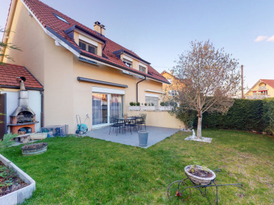 Villa mitoyenne de haute qualité. Sous-sol+combles aménagés, jardin. image 1