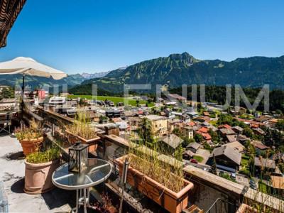Appartement luxueux avec vue imprenable au centre de Leysin image 1