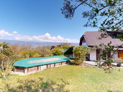 Villa de 6.5 pièces avec piscine et vue sur le lac à Champ-Pittet image 1