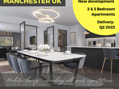 New 3-bedroom deluxe apartments near Manchester city center image 1