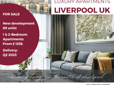 New 2-bedroom apartment in the heart of Liverpool image 1