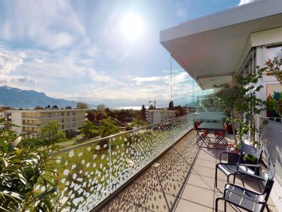 Exclusif - Superbe attique avec vue sur le lac à La Tour-de-Peilz image 1
