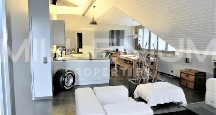 Bel attique 7P avec terrasse à Chambésy image 5