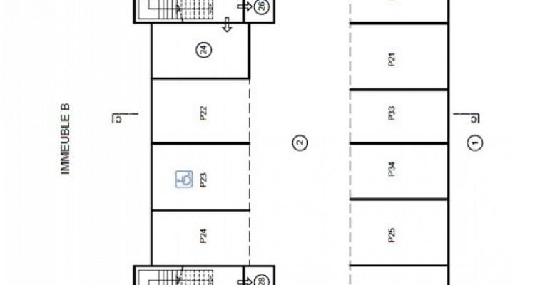 HOME SERVICE vous propose une place de parc intérieure. image 3
