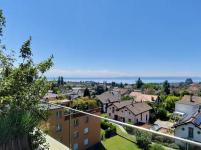 Attique 6.5 pièces avec grande terrasse et vue sur le lac image 1