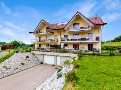 Bel appartement avec grand balcon à Vulliens ! image 1