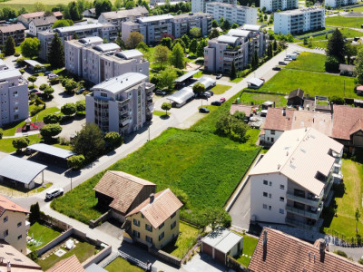 Terrain à bâtir de 1824 m2 pour nouvel immeuble >10 appartements image 1