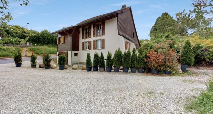 Maison individuelle  avec grand jardin à Villars-Tiercelin ! image 2