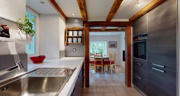 Maison individuelle  avec grand jardin à Villars-Tiercelin ! image 6
