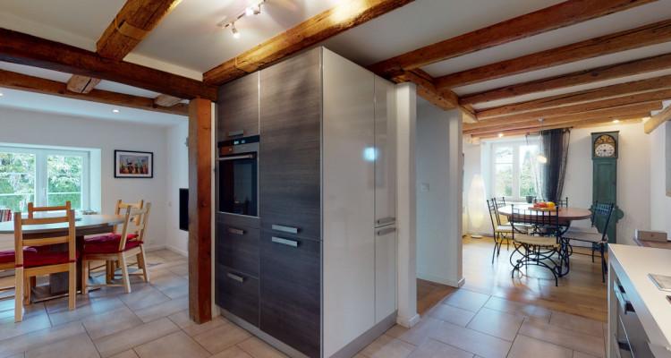 Maison individuelle  avec grand jardin à Villars-Tiercelin ! image 9